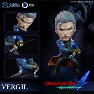 [19년 3분기]Asmus Toys - Qbitz Devil May Cry 4: Vergil (QB004)◈뽁뽁이 안전포장 발송◈