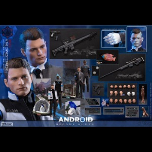 [20년 2분기]LIMTOYS - 1/6 The Ivestigator Android Become Human NINES (LIM010)(Deluxe Edition)◈뽁뽁이 안전포장 발송