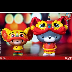 [20년 1분기] Soap Studio - Chibi Tom and Jerry Vinyl Figure (Lion Dance and Cloth Tiger Ver.)(CA02C) ◈뽁뽁이 안전포장 발송◈