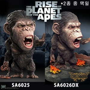 [20년 2분기]Star Ace Toys - Rise of the Planet of the Apes - DF Caesar 1 Soft Vinyl Statue (SA6025/6026DX) - 2종 중 택일◈뽁뽁이 안전포장 발송