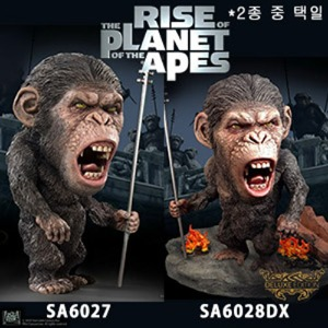 [20년 2분기]Star Ace Toys - Rise of the Planet of the Apes - DF Caesar 2 Soft Vinyl Statue (SA6027/6028DX) - 2종 중 택일◈뽁뽁이 안전포장 발송